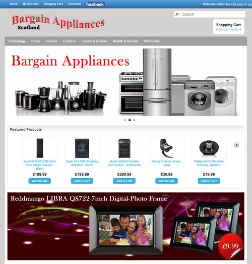 Barter or Buy bargain Appliances website