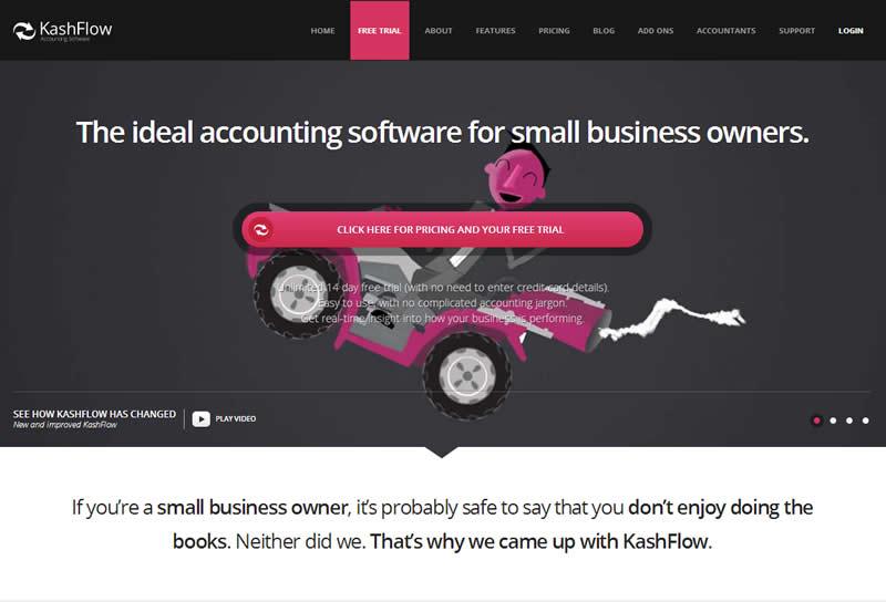 Kashflow online accounts