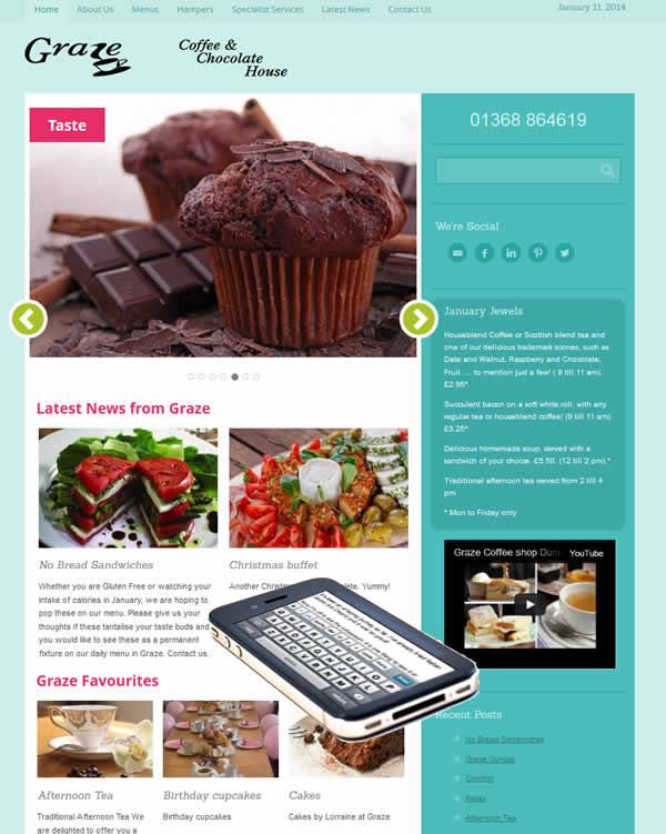 Graze Dunbar New Website