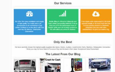 CarAudioStuff New Blog Theme