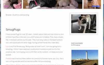 SmugPugs Web Design